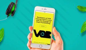 Verkkosivu VOB e-kirjalle